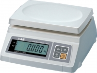 Ваги для простого зважування CAS серії SW-10C (пластикова платформа, один індикатор, лічильний режим)
