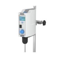 Верхнеприводная цифровая мешалка VELP DLH с двумя ЖК-дисплеями для жидкостей средней вязкости