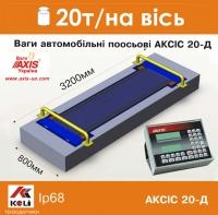 Весы автомобильные поосевые АКСИС 20-Д