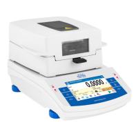 Весы для измерения влажности с автоматическим открыванием сушильной камеры МА 200/1.Х.А Radwag