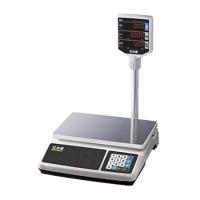 Весы электронные настольные торговые CAS PR-15 P со стойкой (15 кг)