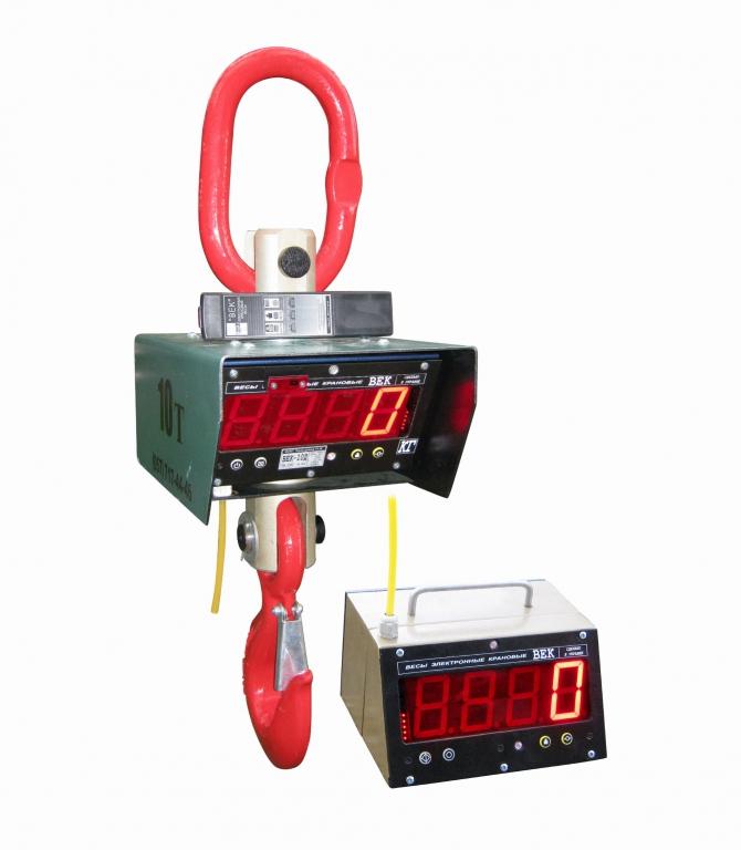 Крановые весы ВЕК с радиомодулем
